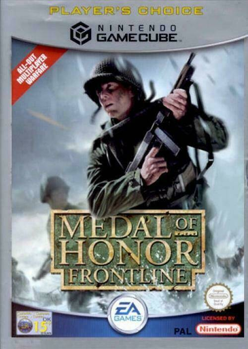 Medal of Honor Frontline (Player's Choice) - NGC