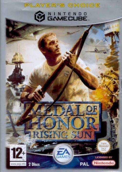 Medal of Honor Rising Sun (Player's Choice) - NGC