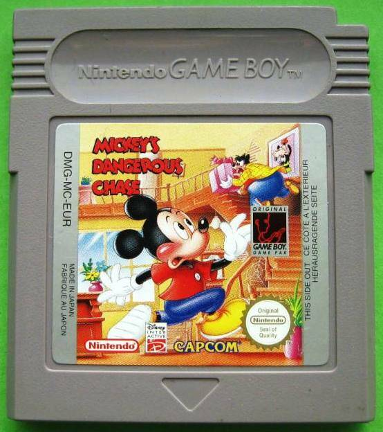 Mickey's Dangerous Chase - GB
