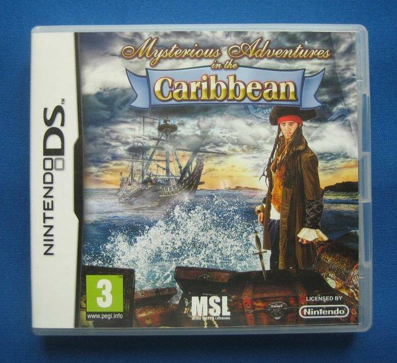 Mysterious Adventures in the Caribbean - DS