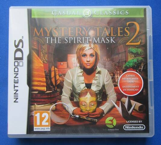 Mystery Tales 2: The Spirit Mask - DS