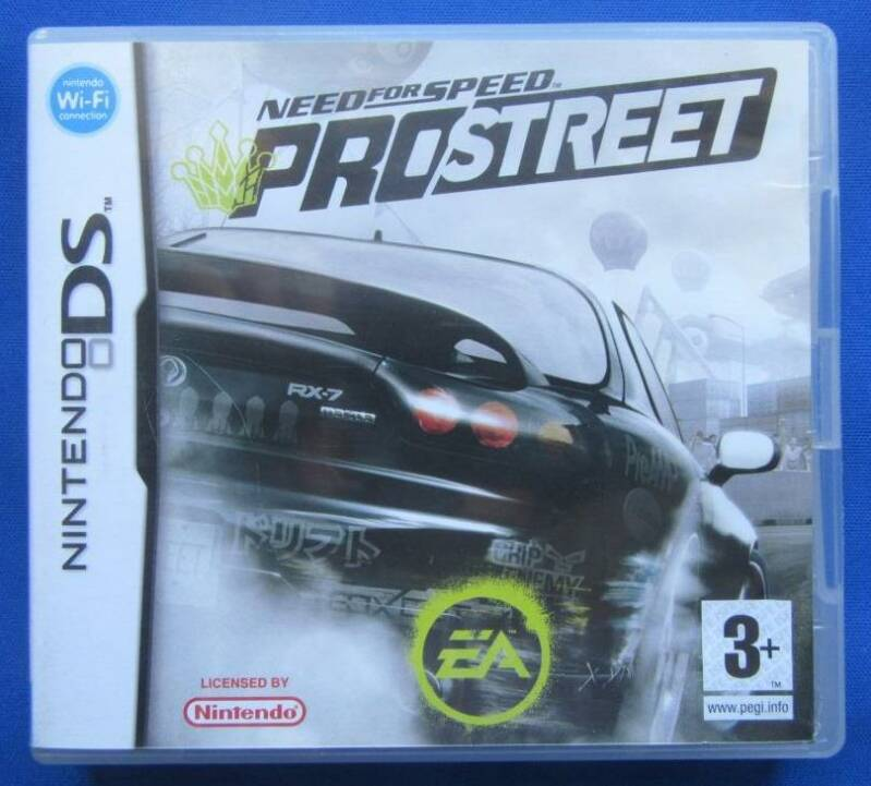 Need for Speed: Pro Street - DS