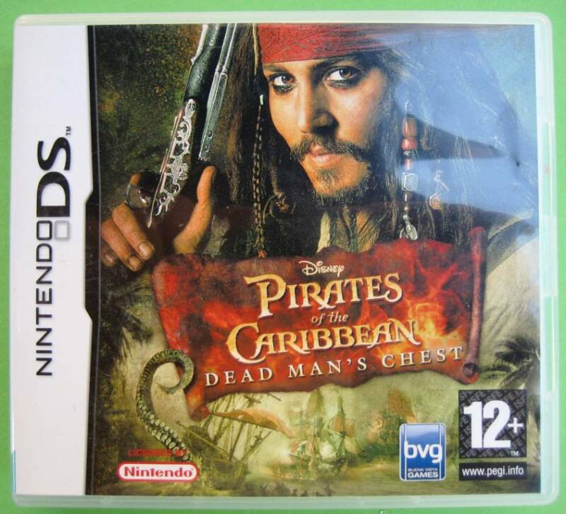 Pirates of the Caribbean: Dead Man's Chest - DS