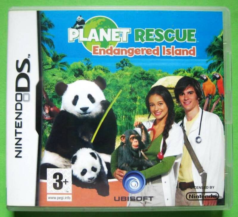 Planet Rescue: Endangered Island - DS