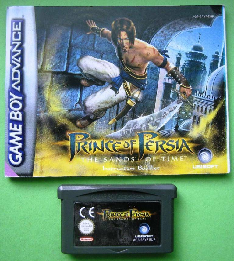 Prince of Persia the Sands of Time (met handleiding) - GBA