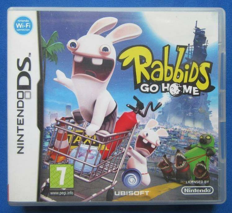 Rabbids Go Home - DS