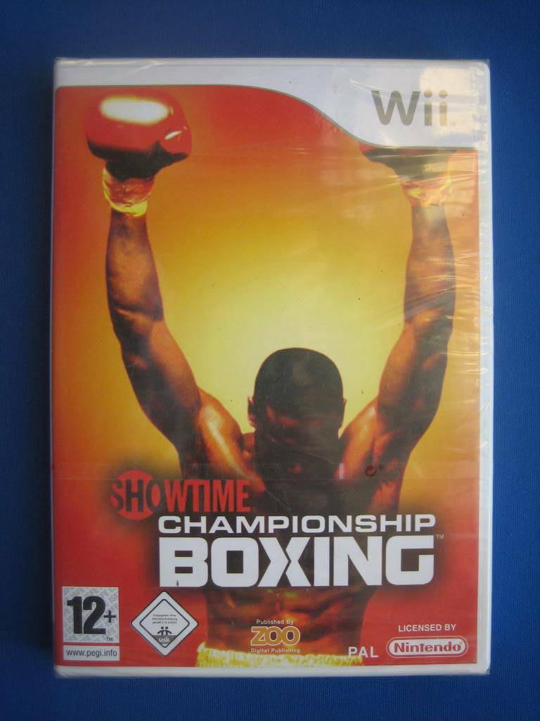 Showtime Championship Boxing (NEW SEALED) - Wii