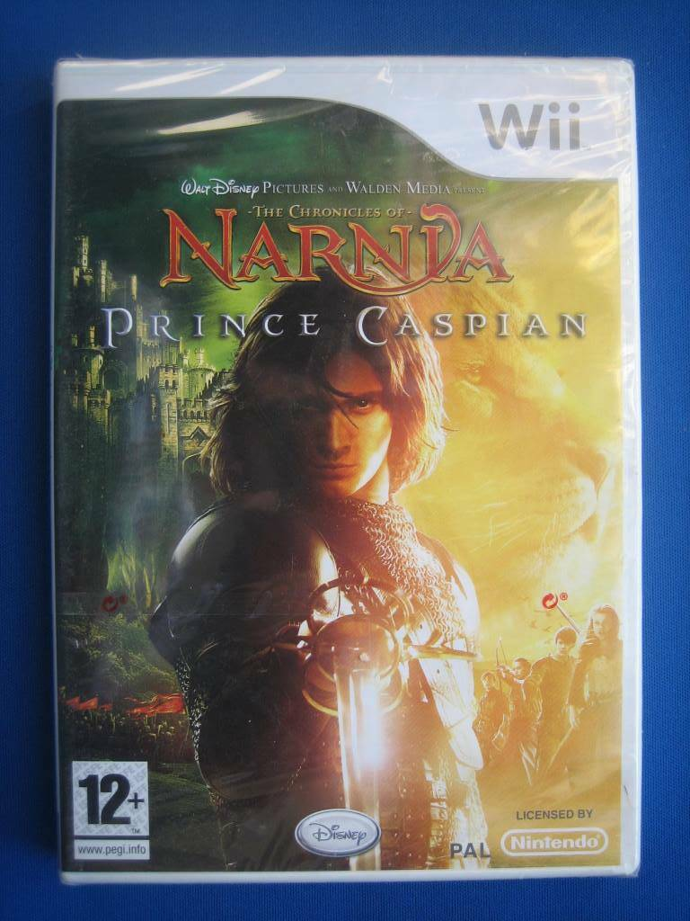 The Chronicles of Narnia: Prince Caspian (NEW SEALED) - Wii