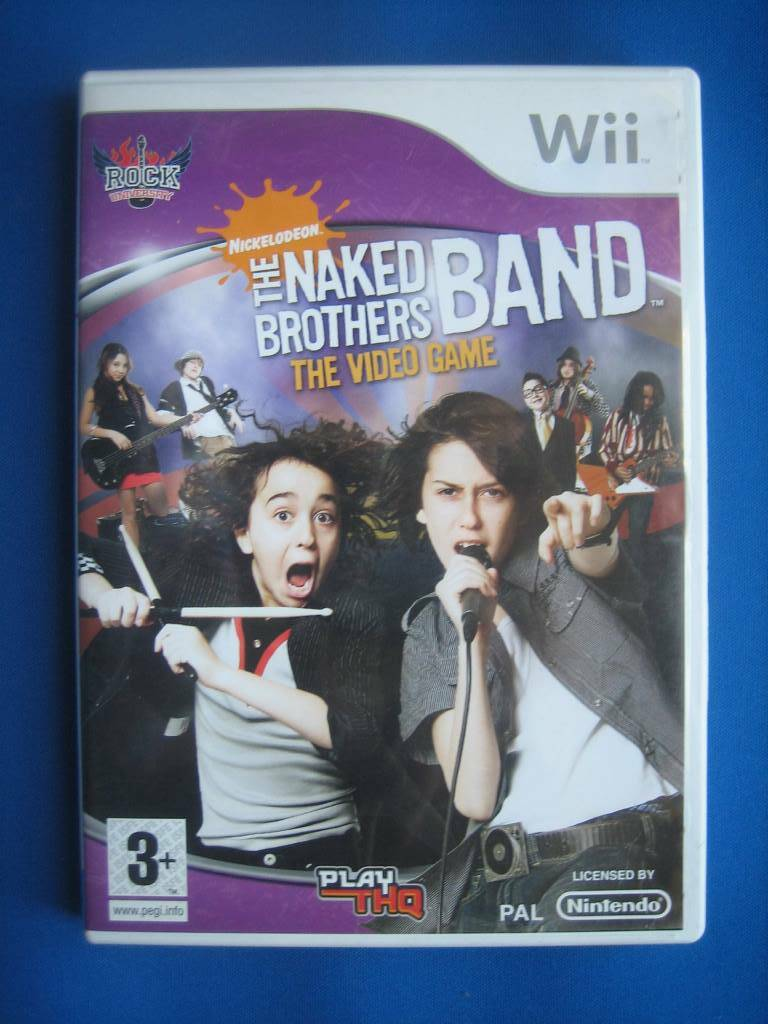 The Naked Brothers Band - Wii