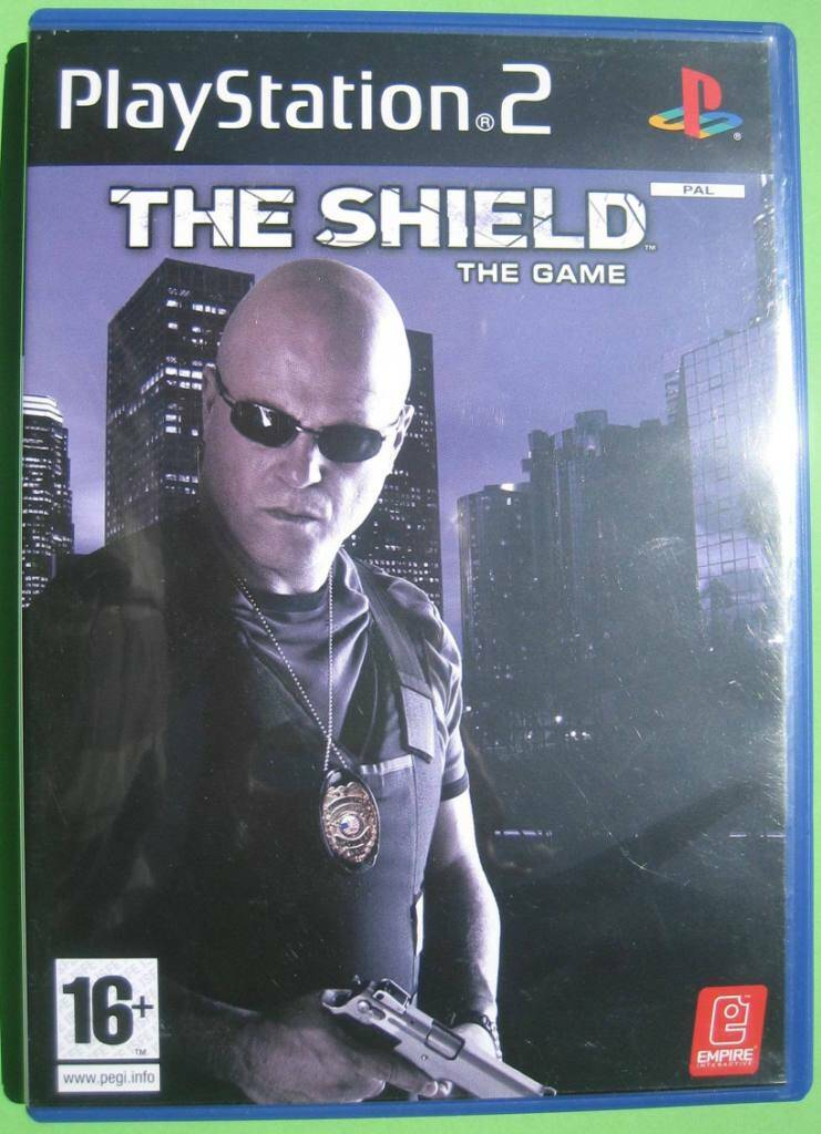 The Shield The Game - PS2