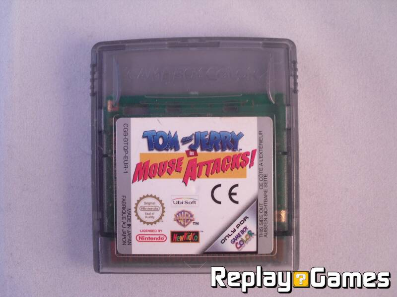 Tom and Jerry in Mouse Attacks - GBC