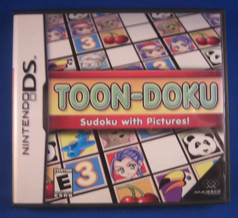Toon-Doku: Sudoku with Pictures! - DS
