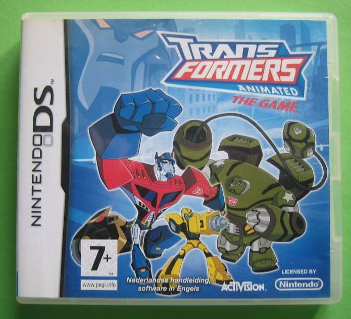 TransFormers Animated The Game - DS