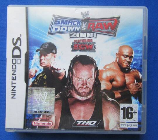 WWE Smackdown vs. Raw 2008 - DS