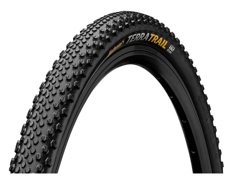 """Buitenband 28"""" Continental Terra Trail TLR ProTection 40-622 Vouwband Zwart"""