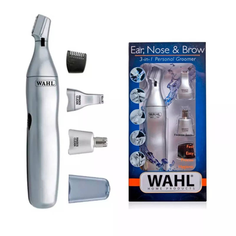 Wahl Neus Trimmer Wet & Dry Triple Head