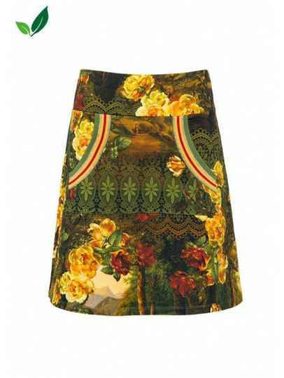 LALAMOUR A-LINE SKIRT SCENERY