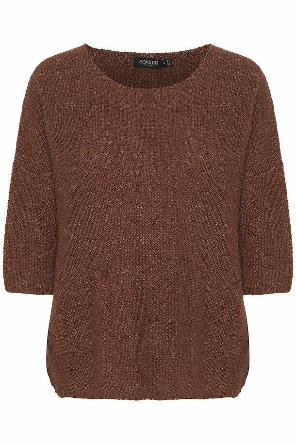 SOAKED Tuesday pullover brown
