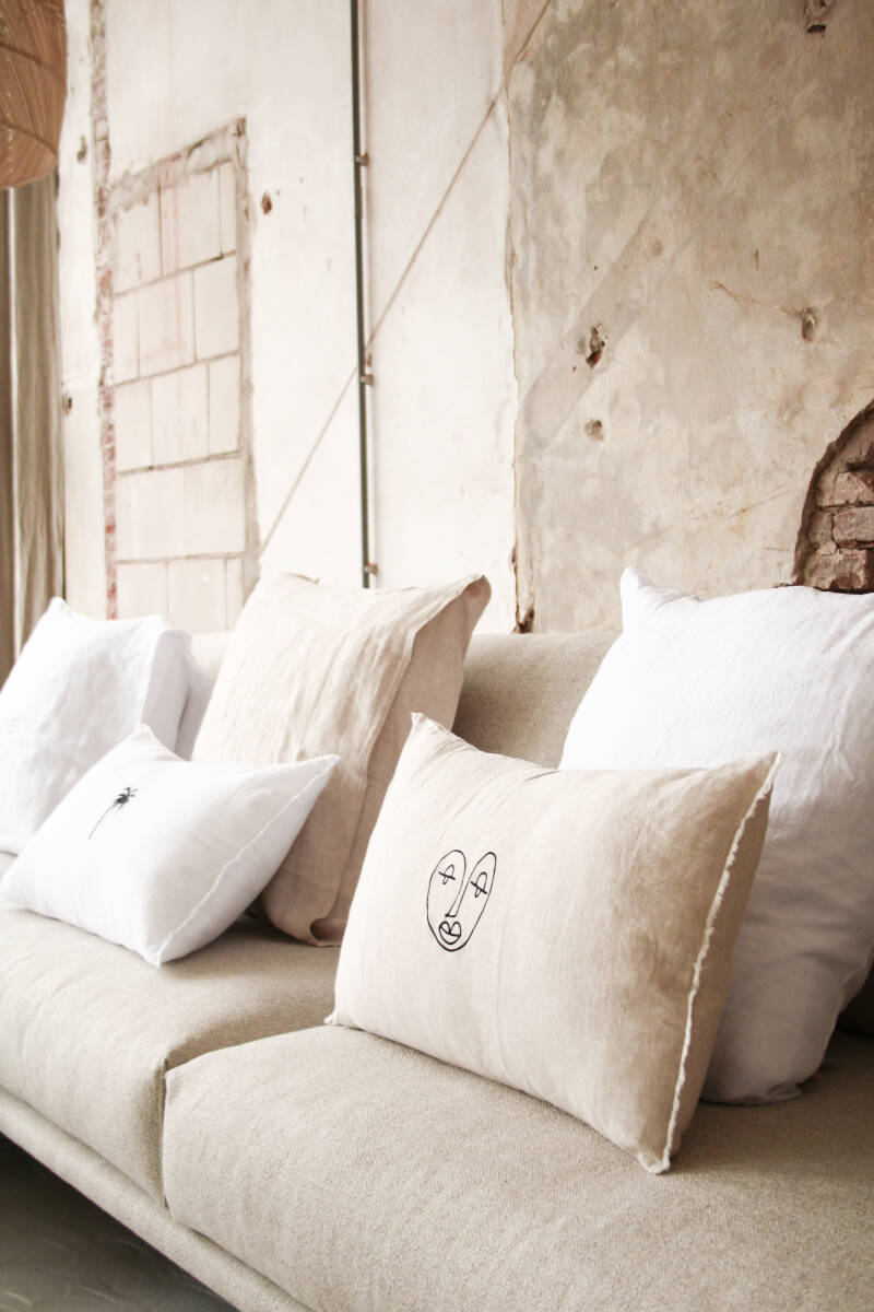 CUSHION loftthelabel limited edition with fray