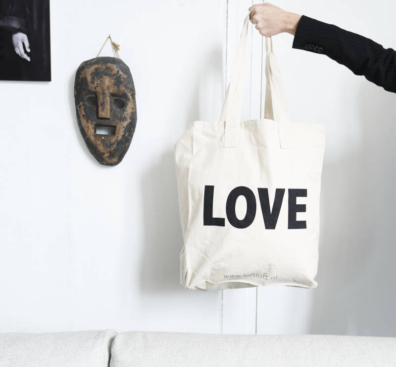 LOVE canvas bag