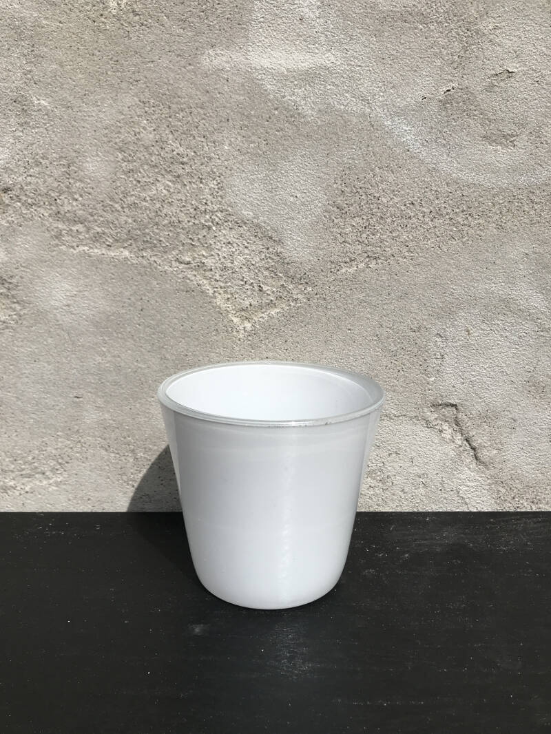 Little white cup