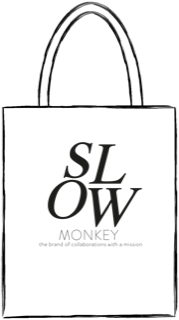 SLOW MONKEY the canvas bag