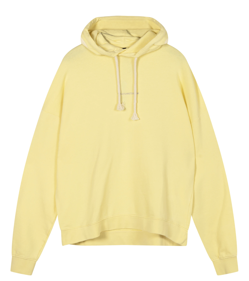 10DAYS Oversized hoodie logo lemon