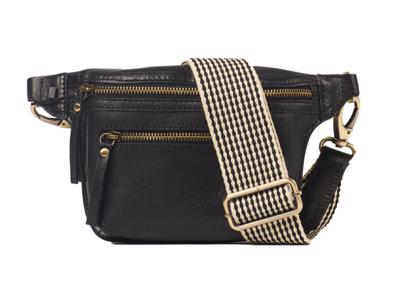Omybag Beck's bum bag black