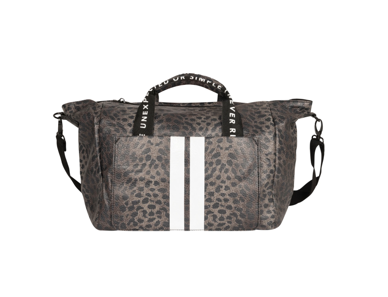 10DAYS Small weekend bag leopard camo
