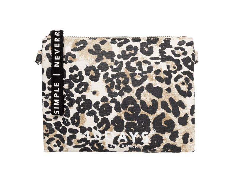 10DAYS Make-up bag leopard