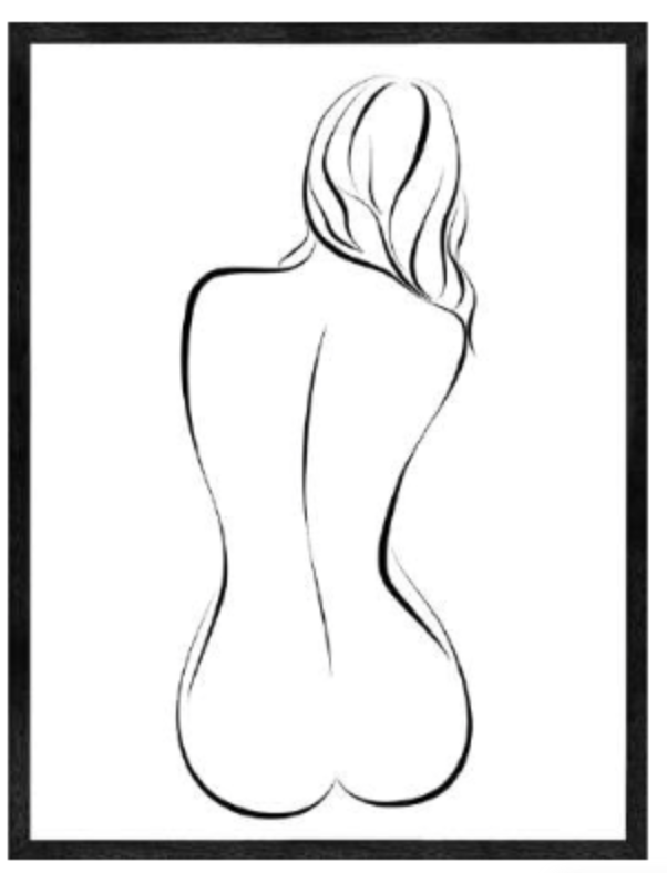 BODY DRAWING poster