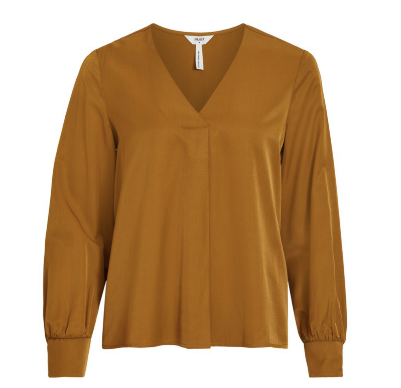 OBJECT Eileen l/s v-neck top
