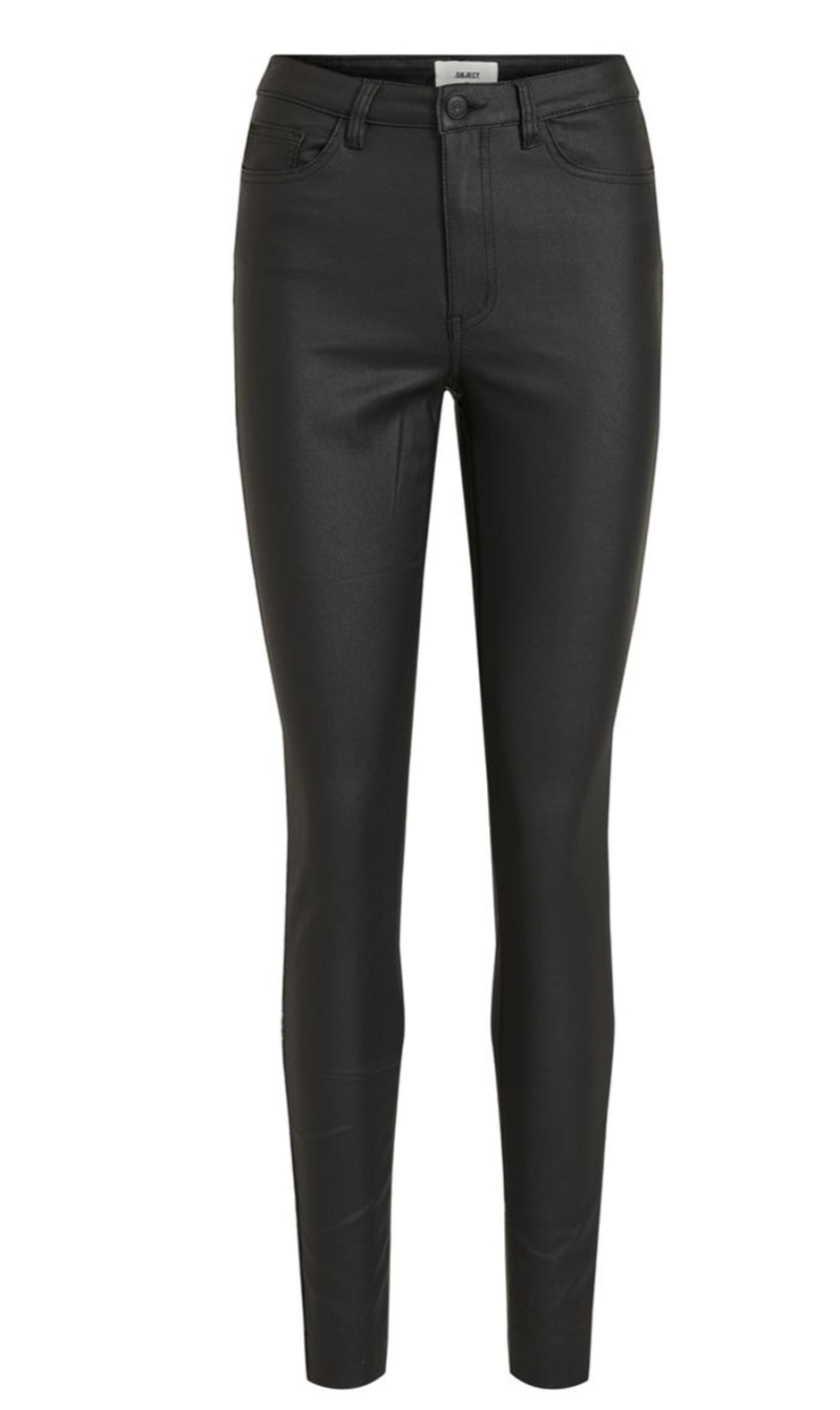 OBJECT Belle mw coated pants