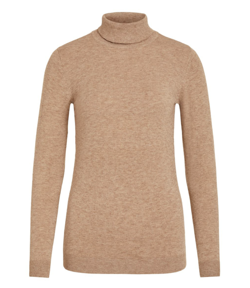 OBJECT Thess l/s rollneck knit pullover