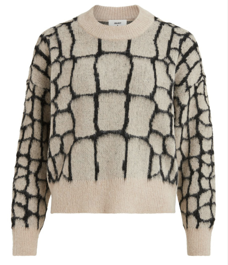 OBJECT Melanie l/s knit pullover 111