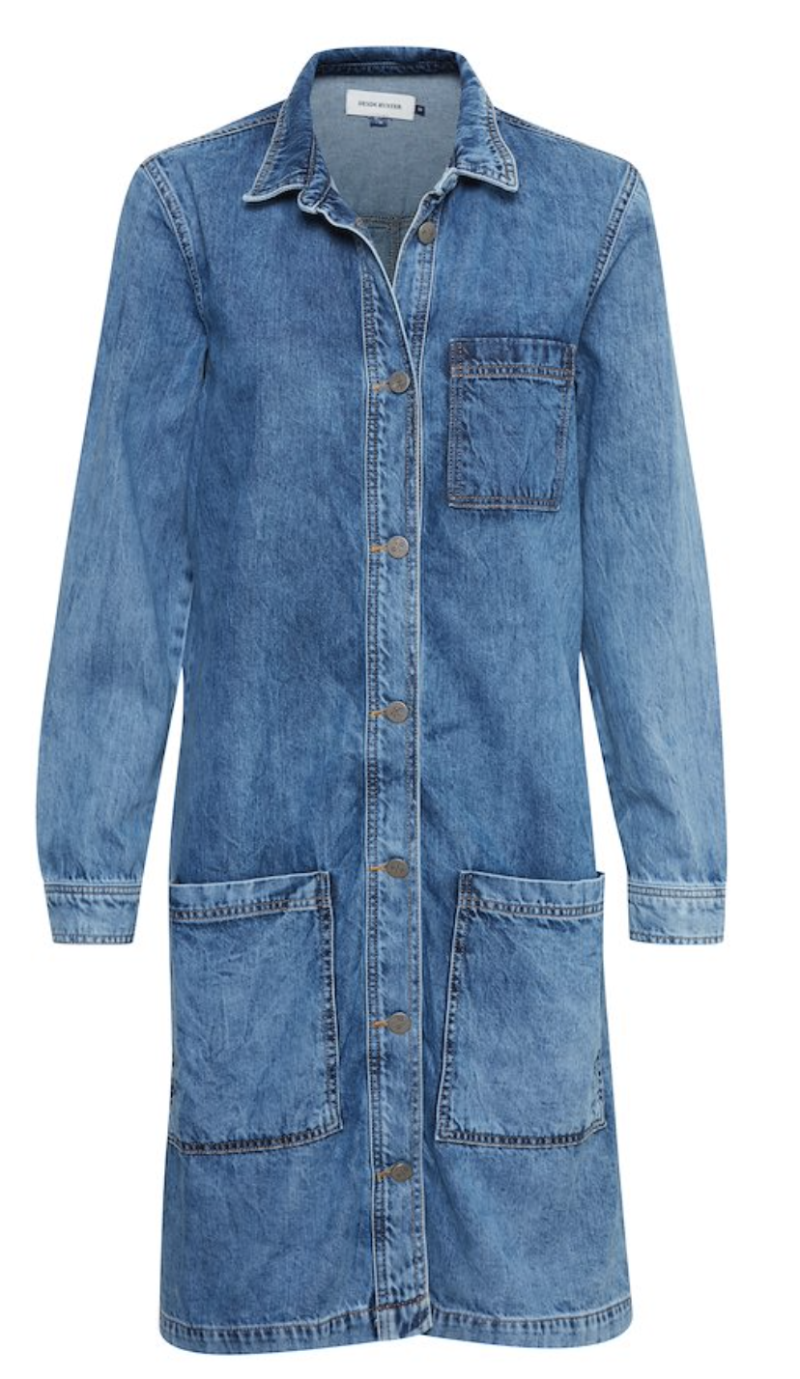 DENIM HUNTER Dover denim dress