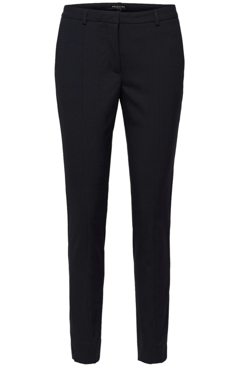 SELECTED Muse fie cropped mw pant ds mel sapphire