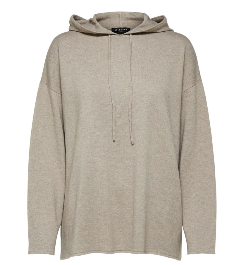 SELECTED Cashmere knit hoodie