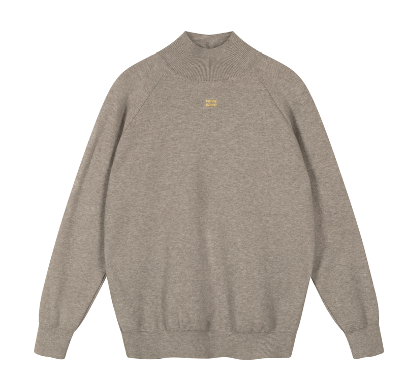 10DAYS Knitted high neck sweater
