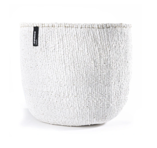 WHITE BASKET XS-XXL