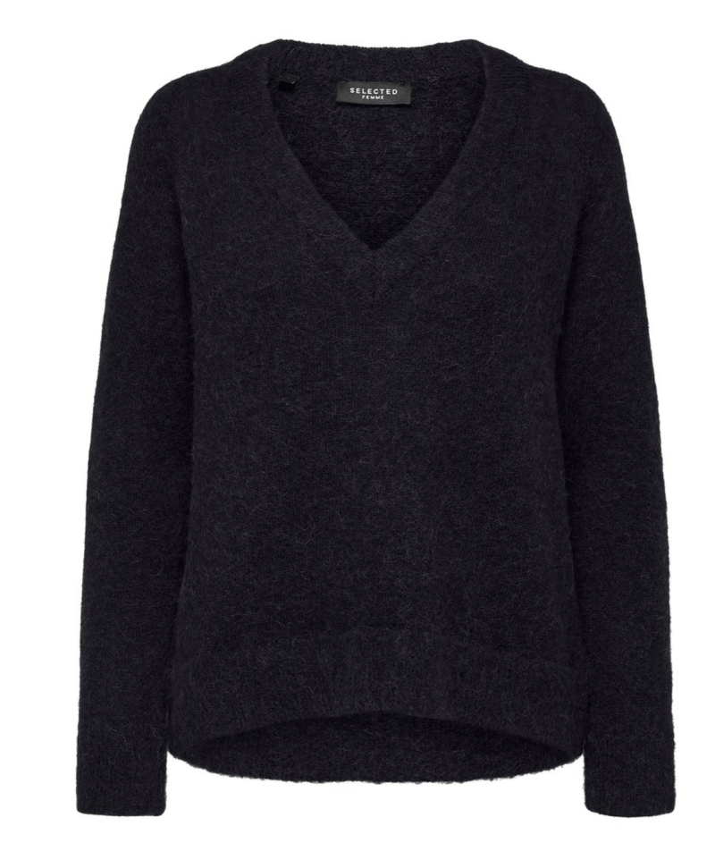 SELECTED Lulu knit v-neck