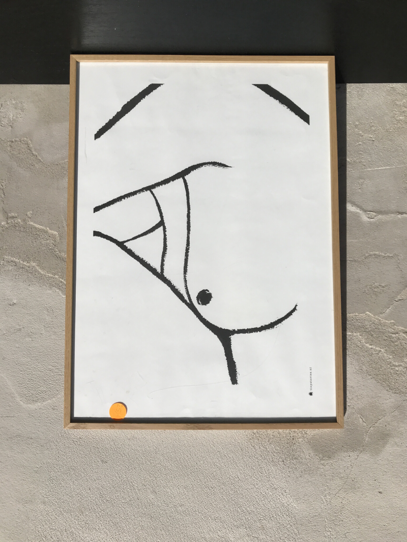 Body poster lines