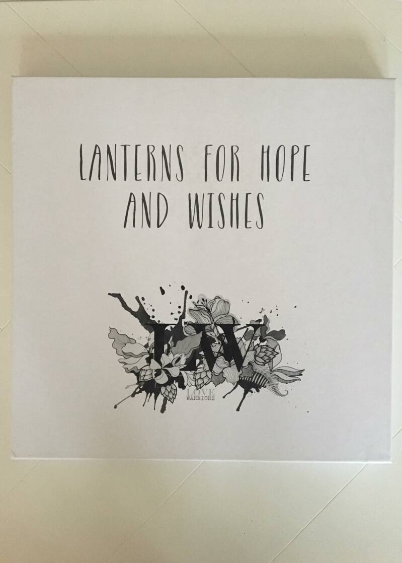 Lanters for hope and wishes