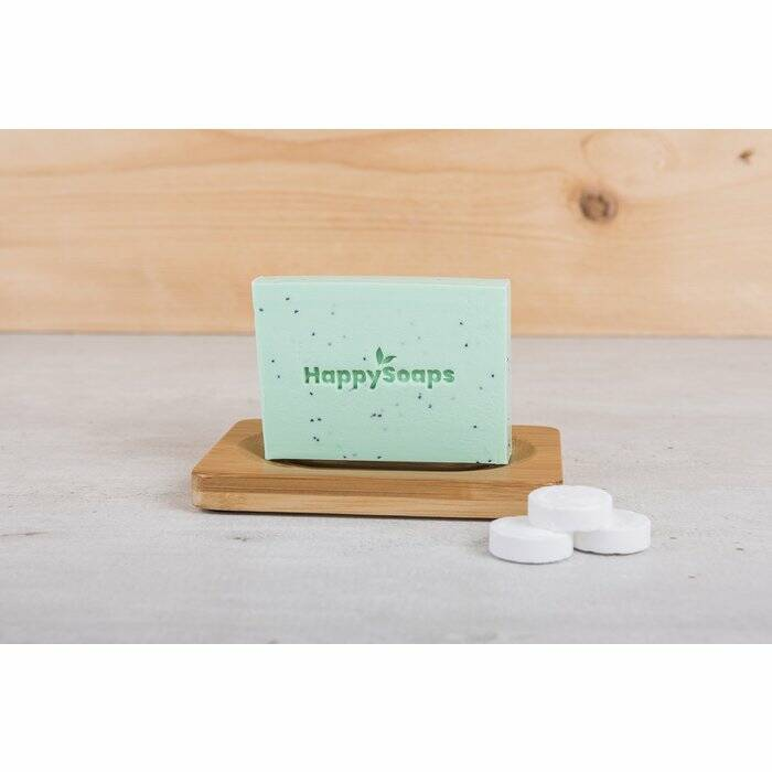 HappySoaps Body Bar - Tea Tree en Pepermunt