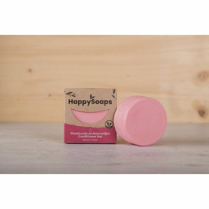 HappySoaps Melon Power Conditioner Bar