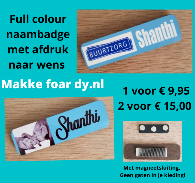 Naambadge full colour