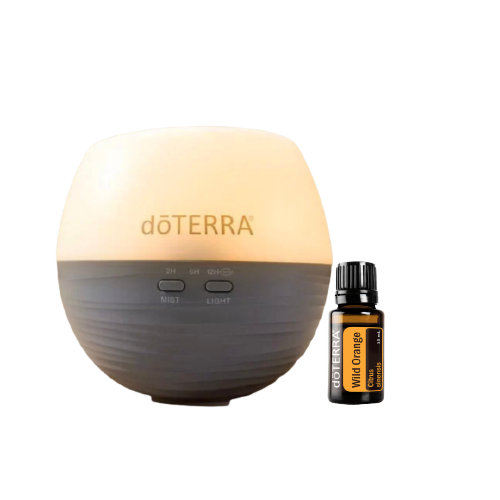 Petal Diffuser & Wild Orange Set dōTERRA