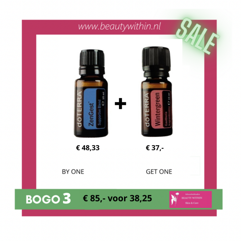 BOGO 3 - Zengest met gratis Winter Green