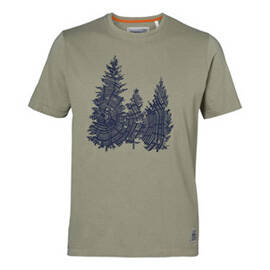 "T-Shirt ""FIR"", groen, heren"