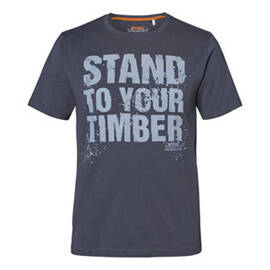 """T-shirt """"STAND TO YOUR TIMBER"""", heren, maat XL"""